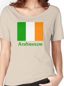 Andrews Irish Flag Women's Relaxed Fit T-Shirt