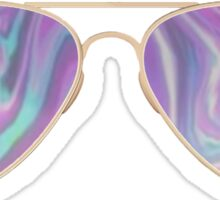 Trippy Sunglasses Sticker