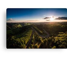 Karussell at Sunset Canvas Print
