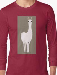 STANDING LLAMA #8 Long Sleeve T-Shirt