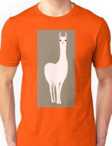 STANDING LLAMA #8 Unisex T-Shirt
