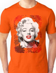 Marilyn's Blooming Beauty  Unisex T-Shirt
