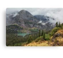 Grinnell Lake from the Trail No. 1 - Glacier NP Canvas Print