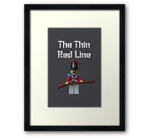 The Thin Red Line by Tim Constable Framed Print