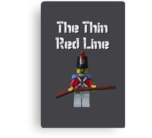 The Thin Red Line by Tim Constable Canvas Print