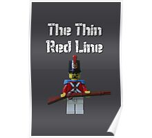 The Thin Red Line by Tim Constable Poster