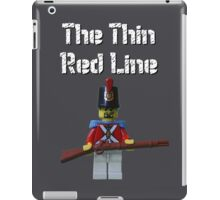The Thin Red Line by Tim Constable iPad Case/Skin
