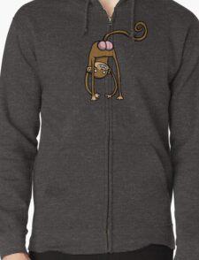 Monkabum Zipped Hoodie