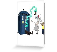Doctor Whoops Greeting Card