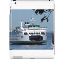 Ferry Puyallup arriving Edmonds iPad Case/Skin