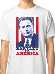 Bartlet for America 1 Classic T-Shirt