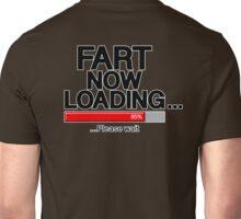 Fart Now Loading - Red Bar Unisex T-Shirt