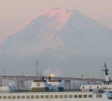 Ferry Kitsap with Mt. Rainier Sticker