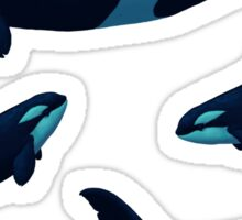 Lost in Serenity ~ Orca ~ Killer Whale Sticker