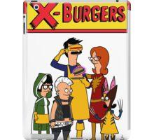 X Burgers iPad Case/Skin