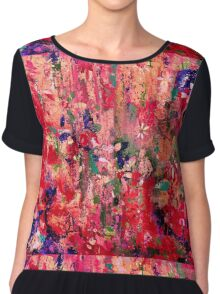 Spring Blooms Chiffon Top