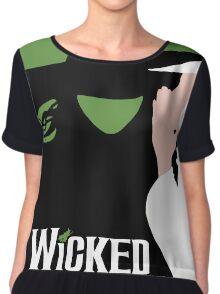 Wicked - Elphaba and Glinda Chiffon Top