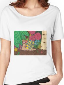Snail's Eye View Women's Relaxed Fit T-Shirt