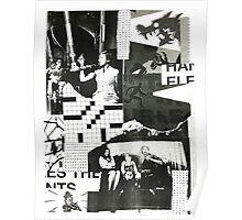 Vintage Grunge Collage Poster