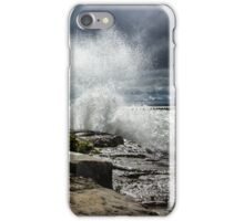 Big Lake, Big Waves iPhone Case/Skin