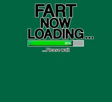 Fart Now Loading - Green Bar Womens Fitted T-Shirt