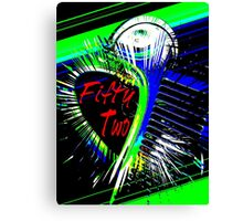 Fifty Two Canvas Print