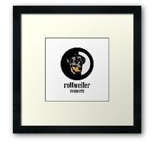 For the love of the breed Framed Print