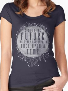 The Lunar Chronicles - Cinder Women's Fitted Scoop T-Shirt