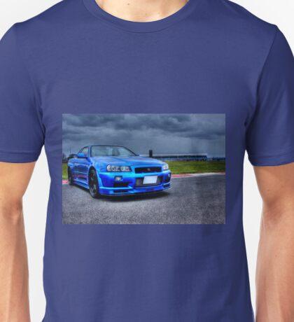 Nissan Skyline in HDR Unisex T-Shirt
