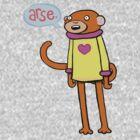 Arse Monkey by lauriepink