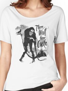 There Wolf There castle Women's Relaxed Fit T-Shirt