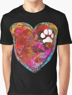 Dog Art - Puppy Love 2 - Sharon Cummings Graphic T-Shirt