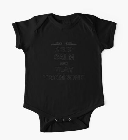 Play Trombone (Black) One Piece - Short Sleeve