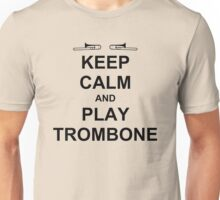 Play Trombone (Black) Unisex T-Shirt