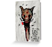 Lord of the Flies Greeting Card