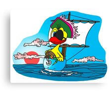 """Rick the chick """"BUCCANEER"""" Canvas Print"""