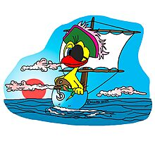 "Rick the chick ""BUCCANEER"" Photographic Print"