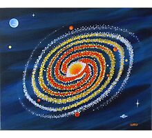 HOT SPIRAL GALAXY Photographic Print