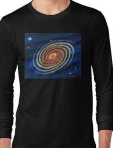 HOT SPIRAL GALAXY Long Sleeve T-Shirt