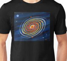 HOT SPIRAL GALAXY Unisex T-Shirt