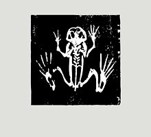 Tree Frog Skeleton - Museum Linocut Collection Unisex T-Shirt