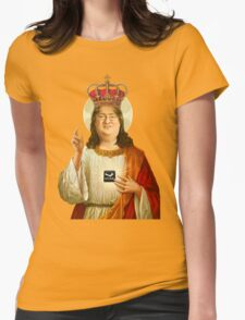 Praise Lord Gaben Womens Fitted T-Shirt