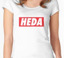 Heda (Lexa) - The 100 - OBEY style Women's Fitted Scoop T-Shirt