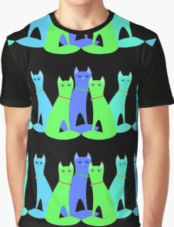 Cool Cats Graphic T-Shirt