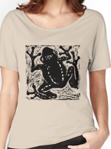 Tree Frog - Museum Linocut Collection Women's Relaxed Fit T-Shirt