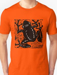 Tree Frog - Museum Linocut Collection Unisex T-Shirt