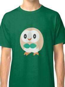 Rowlet Vector (Pokemon) Classic T-Shirt