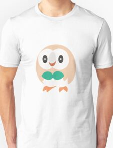 Rowlet Vector (Pokemon) Unisex T-Shirt
