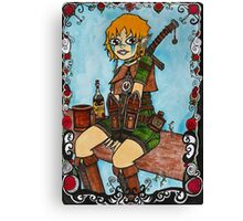 Elf Woman Canvas Print