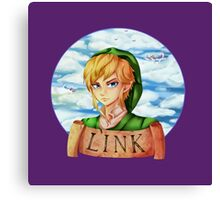 Skyward Sword Link : Hero of Skyloft Canvas Print